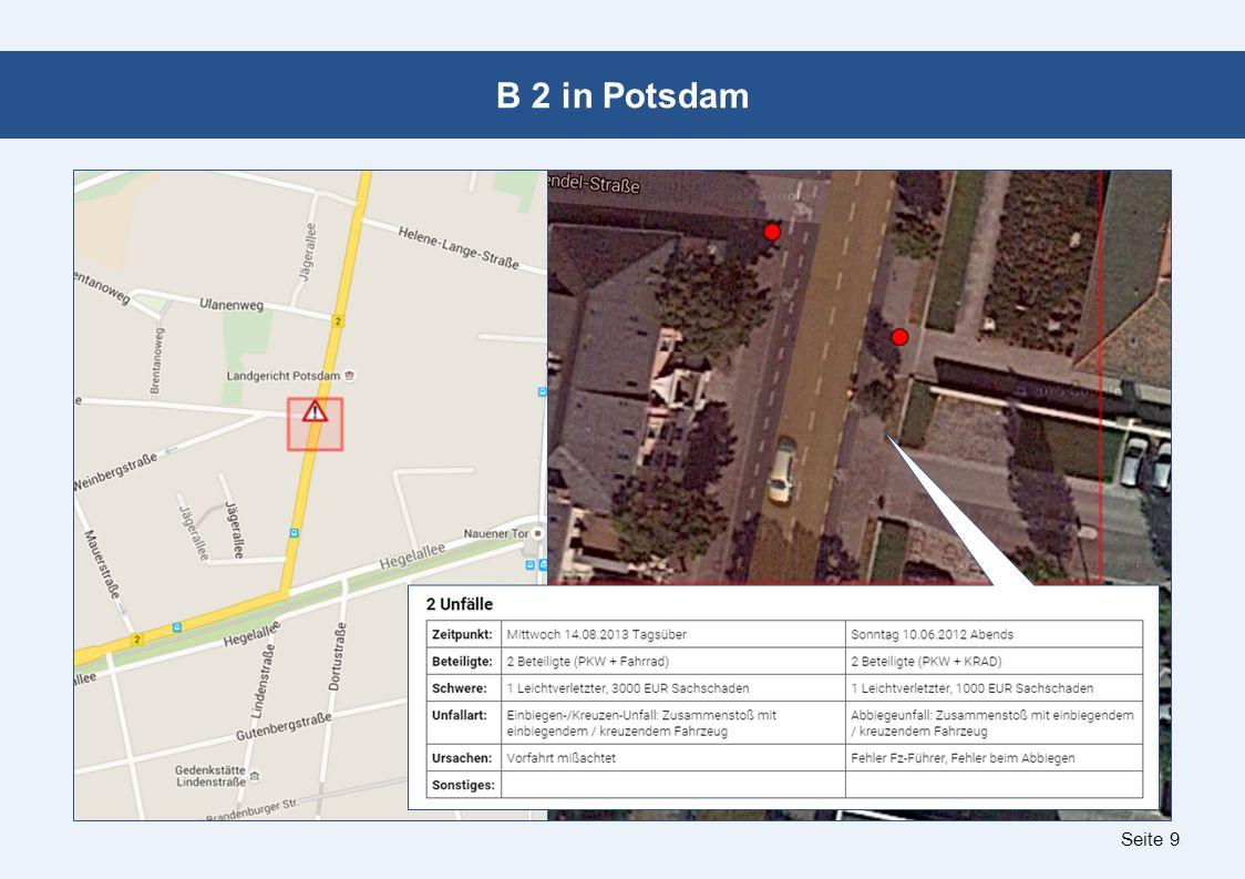 Seite 9 B 2 in Potsdam