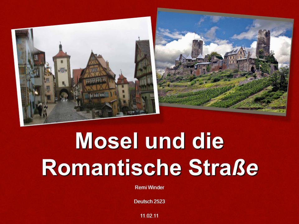 Mosel und die Romantische Straße Remi Winder Deutsch 2523 11.02.11