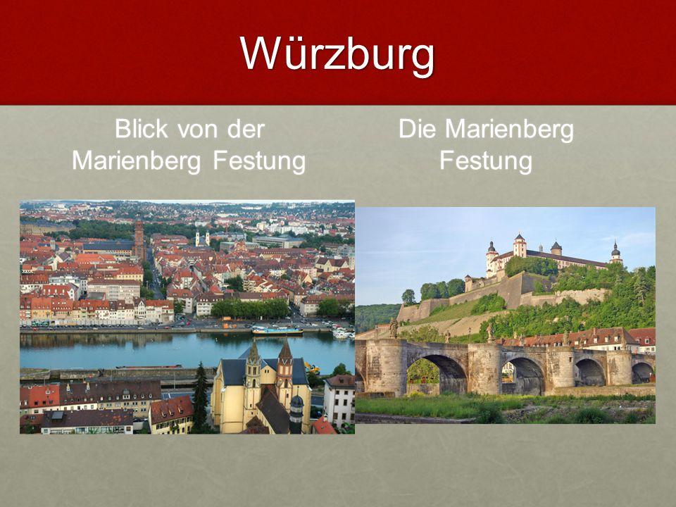Der Residenz Würzburg mit Hofgarten Die Residenz ist das größte Werk des Architekten Balthasar Neumann.