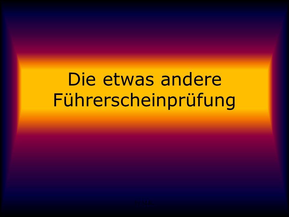 by M.K. Die etwas andere Führerscheinprüfung