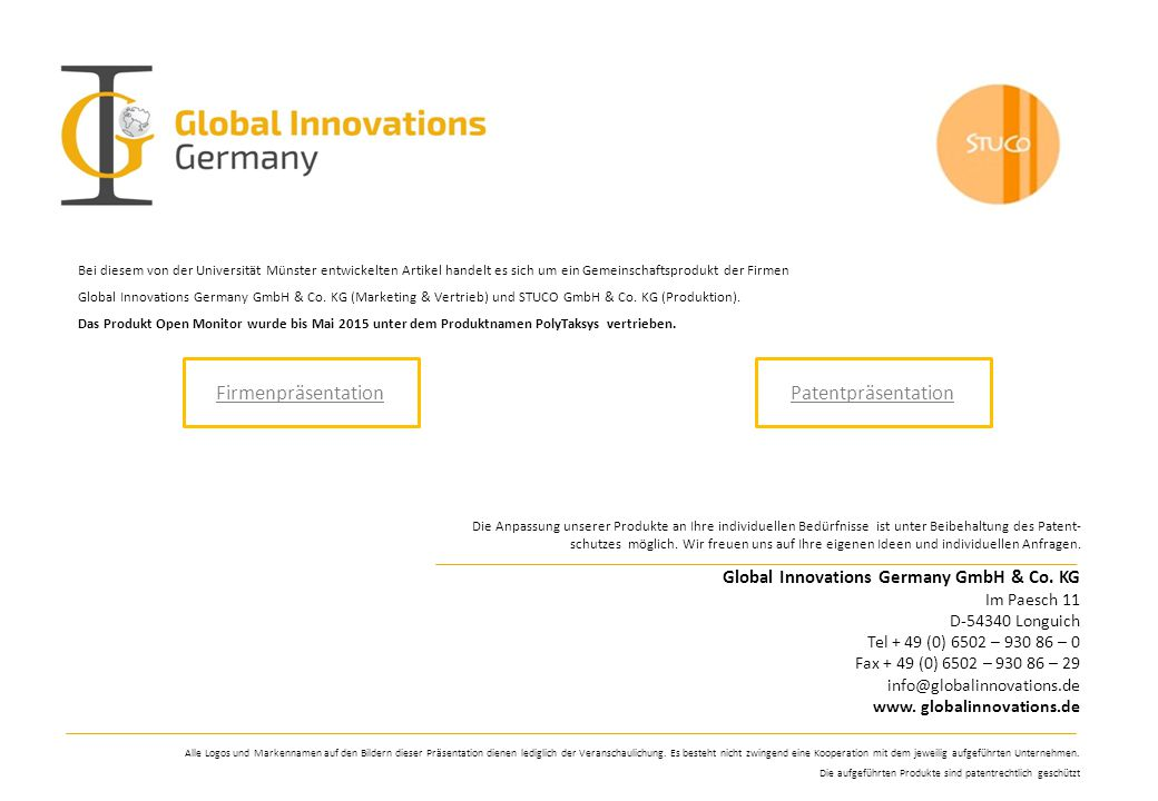 Global Innovations Germany GmbH & Co.