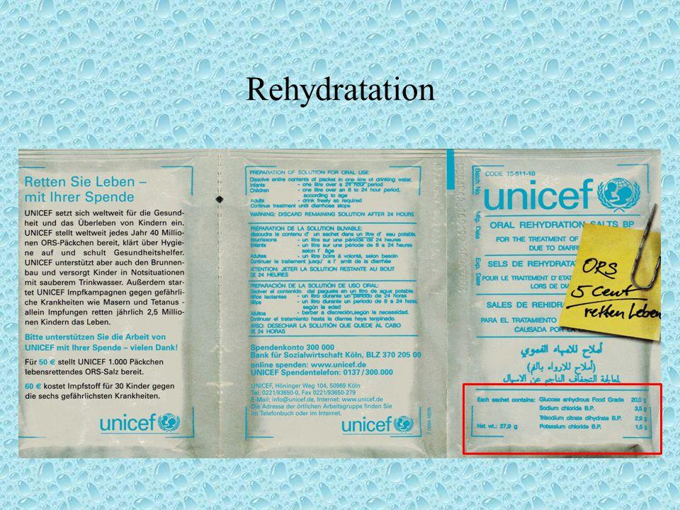 Rehydratation