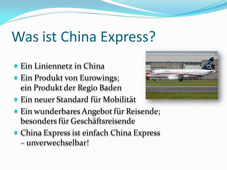 Wie funktioniert China Express.