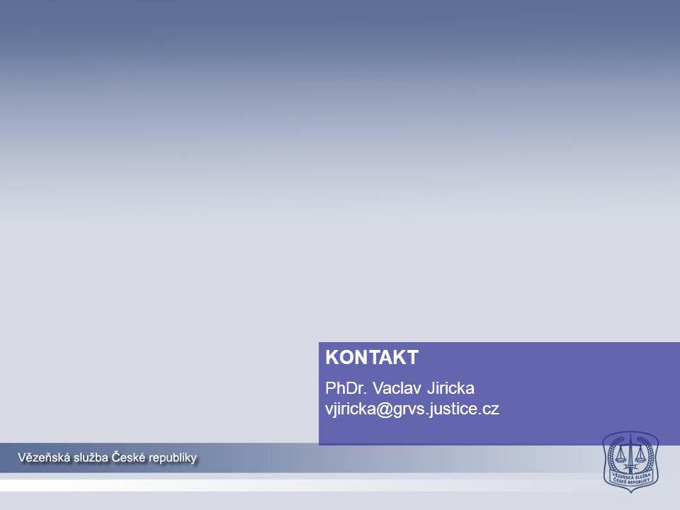 KONTAKT PhDr. Vaclav Jiricka vjiricka@grvs.justice.cz
