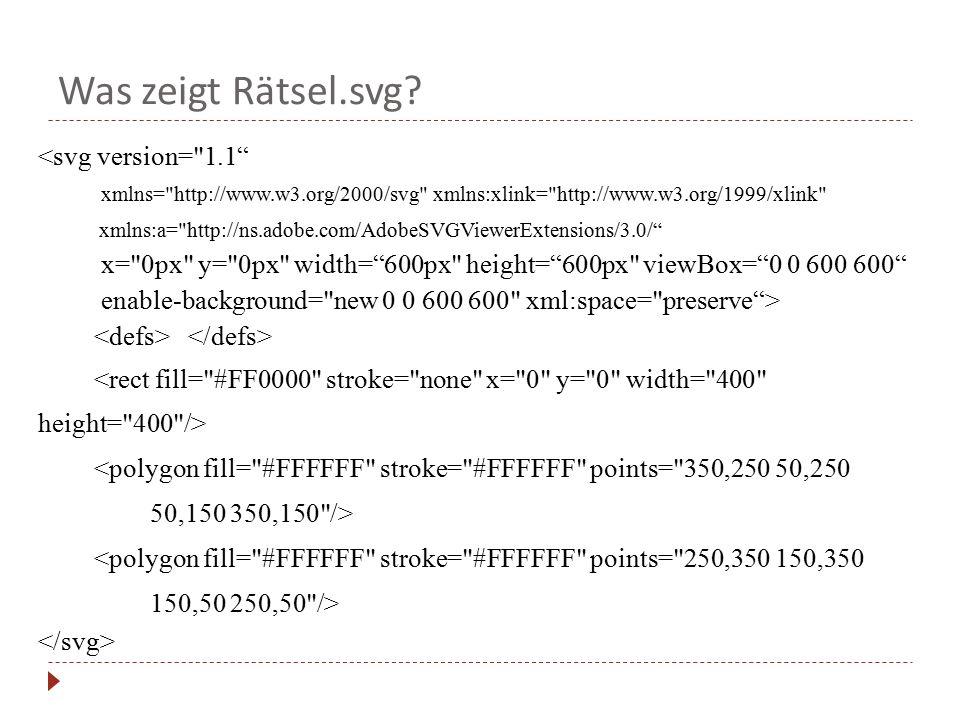 Was zeigt Rätsel.svg? <svg version=