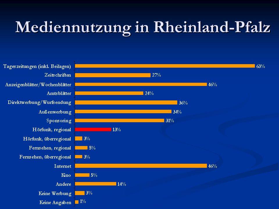 Mediennutzung in Rheinland-Pfalz