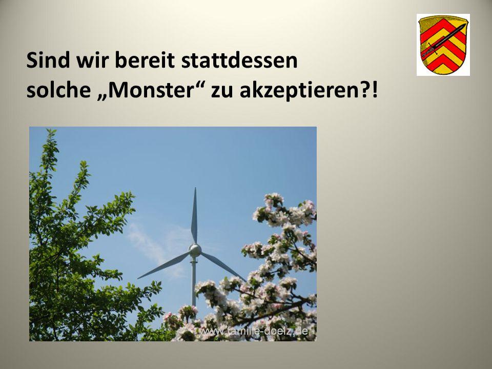 Fazit:  Die Energiewende ist ökologisch notwendig und politisch gewollt.
