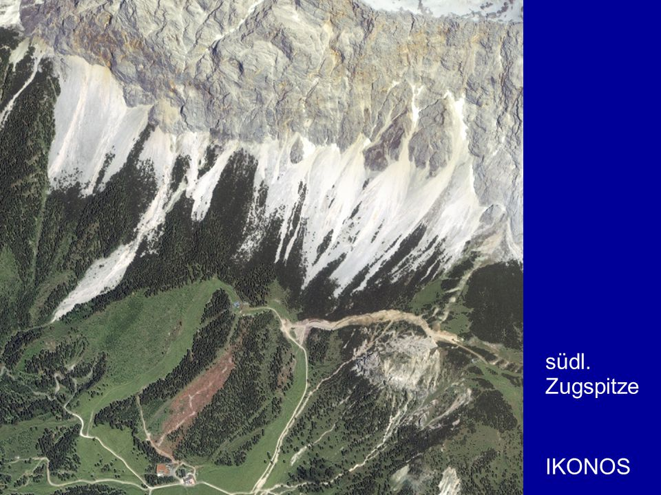 südl. Zugspitze IKONOS