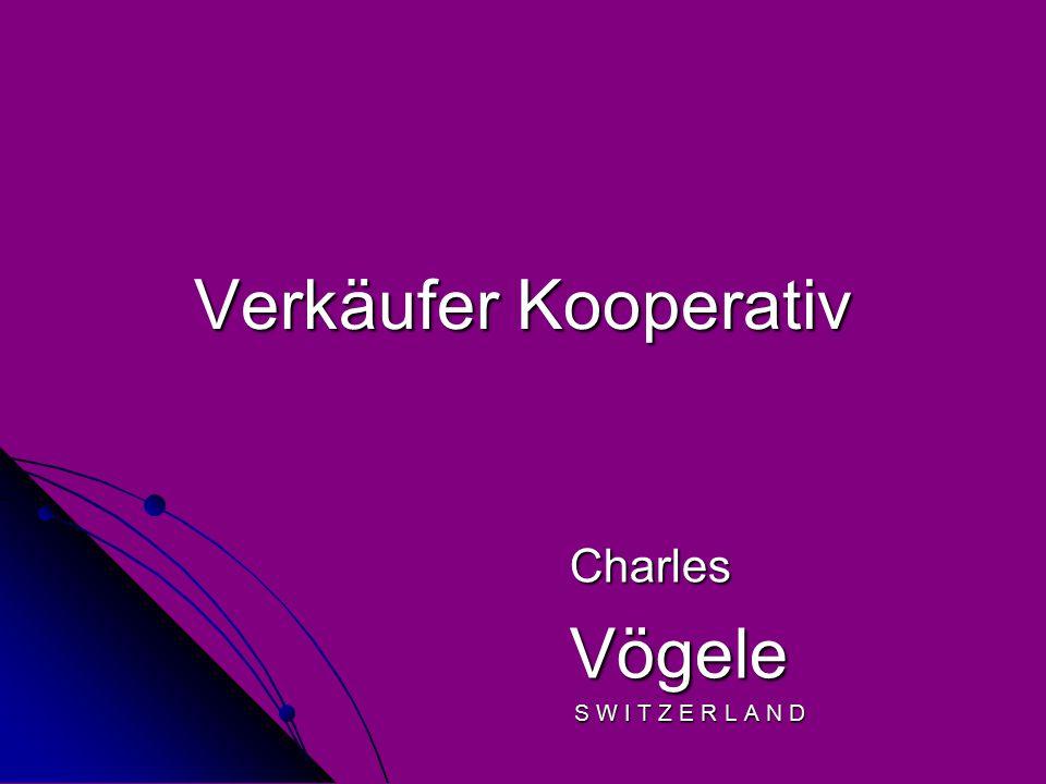 Verkäufer Kooperativ Charles Vögele Vögele S W I T Z E R L A N D S W I T Z E R L A N D