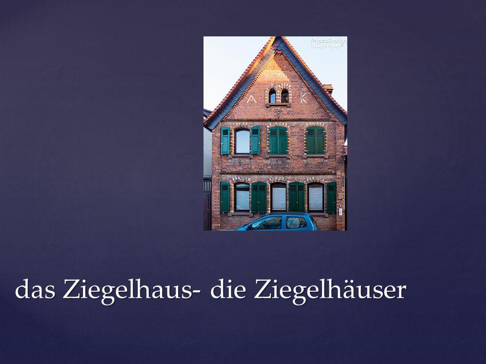 das Mehrfamilienhaus