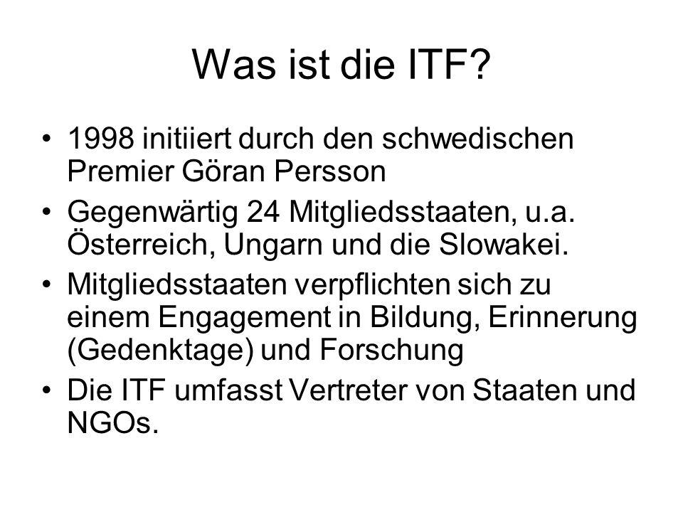 Was ist die ITF.