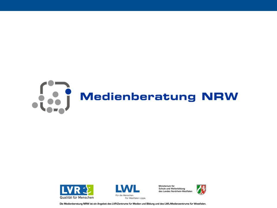 Die Medienberatung NRW ist ein Angebot des LVR-Zentrums für Medien und Bildung und des LWL-Medienzentrums für Westfalen im Auftrag des Ministeriums für Schule und Weiterbildung und der Landschaftsverbände Rheinland und Westfalen-Lippe 12 Zustimmung Schulministerium (zuständiges Referat 412 bis zur Ministerin) Kommunale Spitzenverbände: im AK Medien und z.
