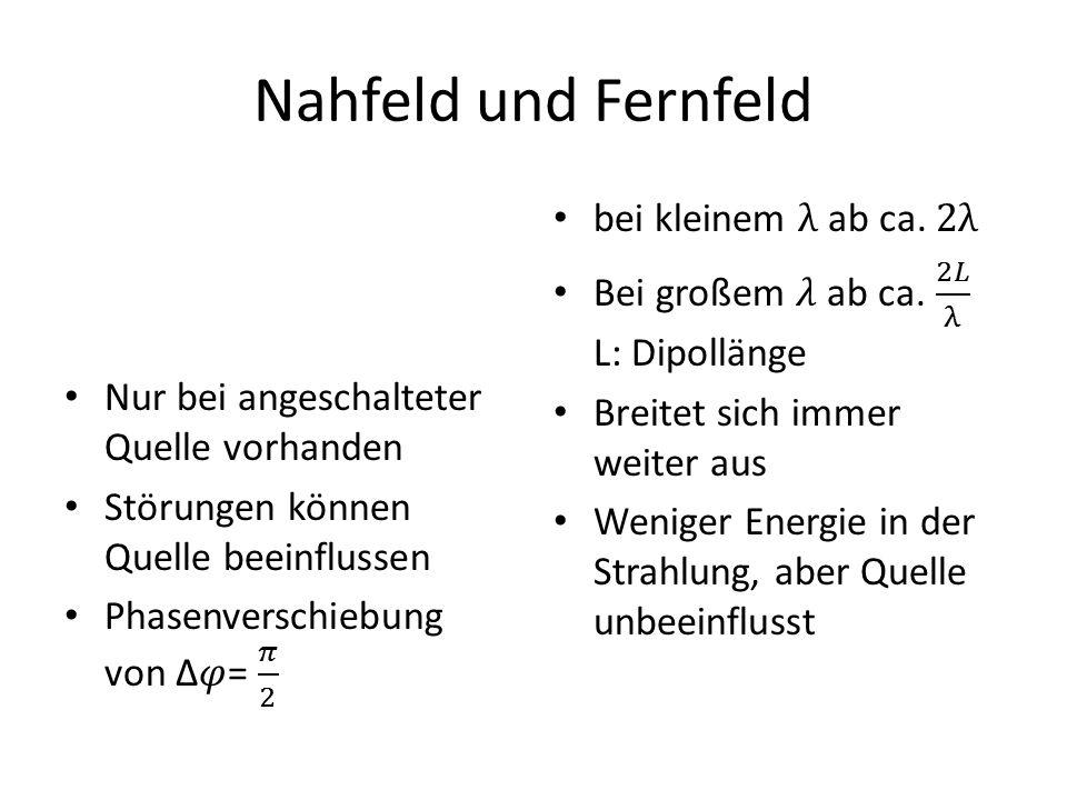 Nahfeld und Fernfeld