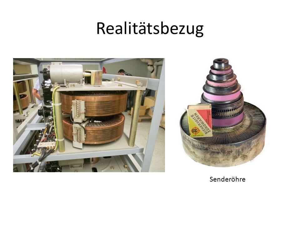 Realitätsbezug Senderöhre