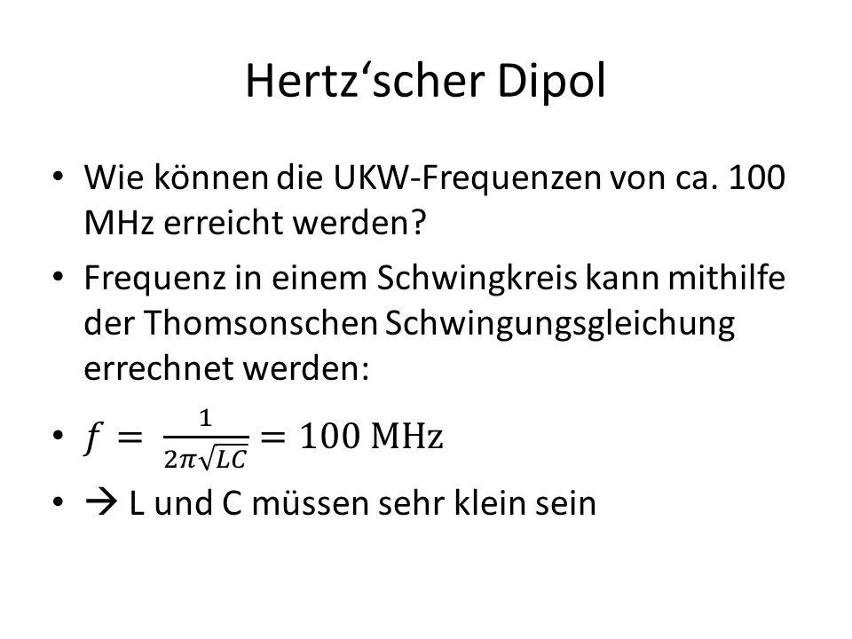 Hertz'scher Dipol