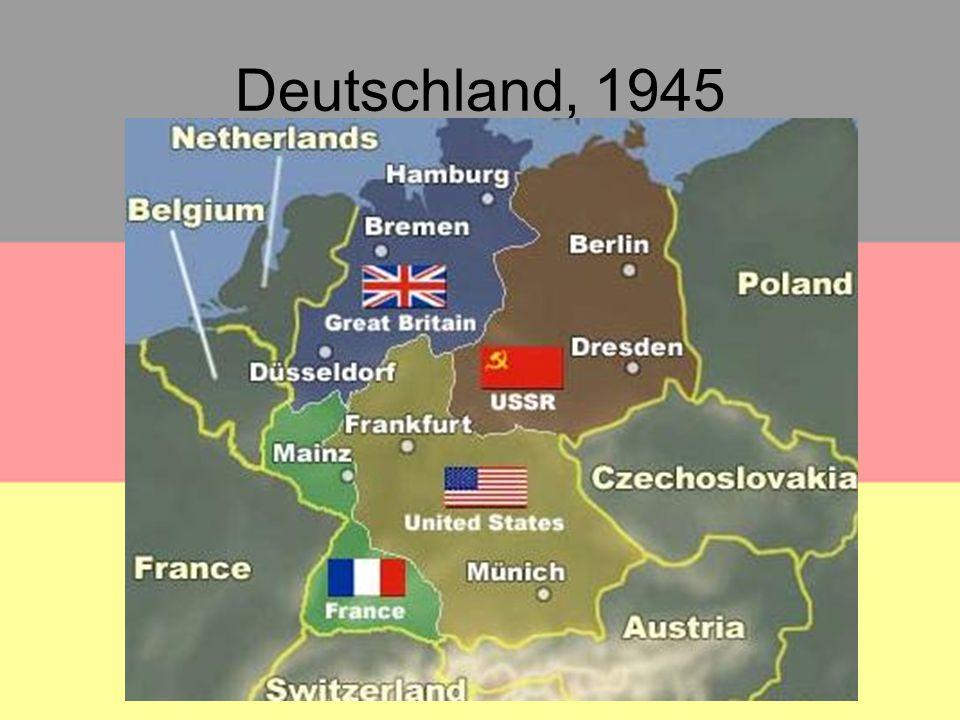 Deutschland, 1945