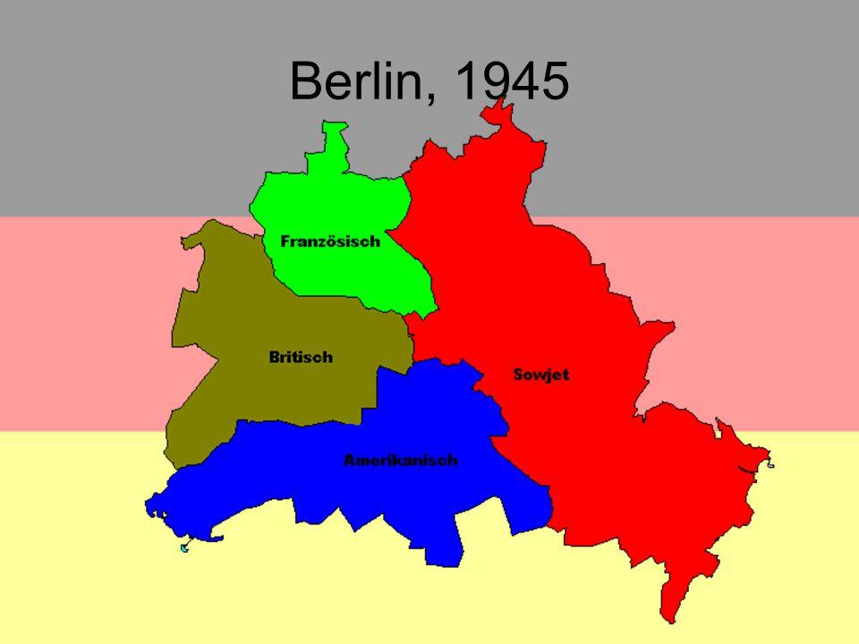 DDR und BRD Die Fahne der Deutsche Demokratische Republik (Ostdeutschland) Die Fahne der Bundesrepublik Deutschland (Westdeutschland)