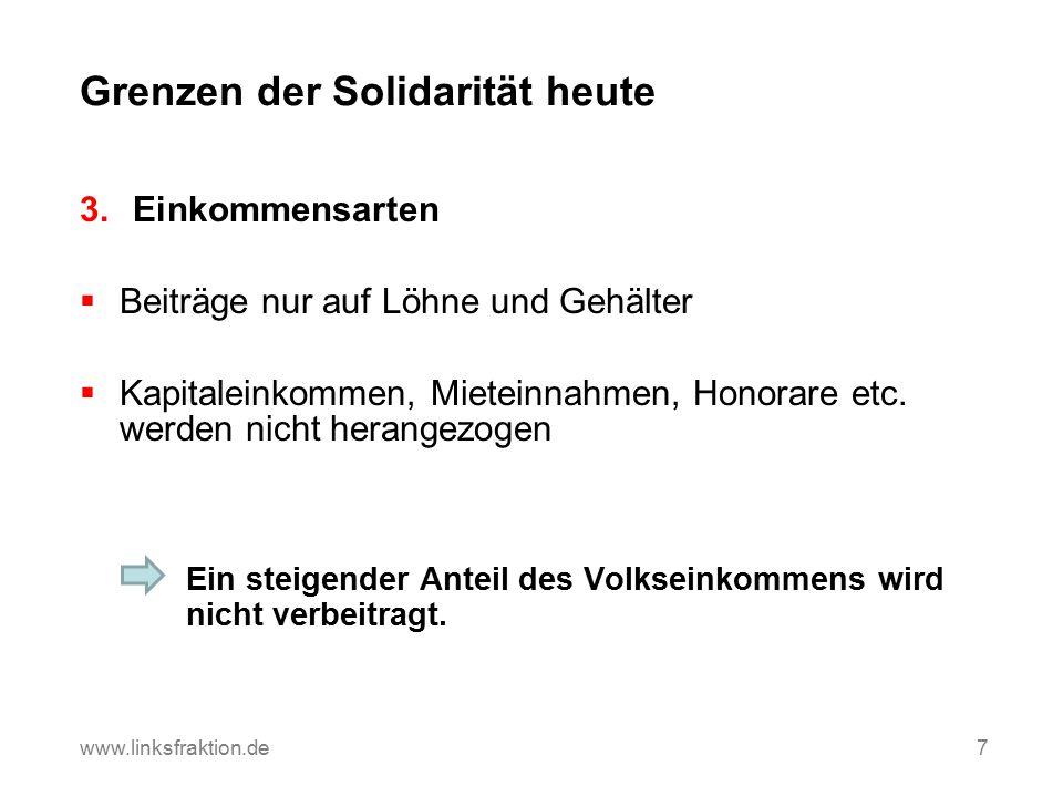 Umbrüche in der Erwerbs- und Einkommensstruktur www.linksfraktion.de