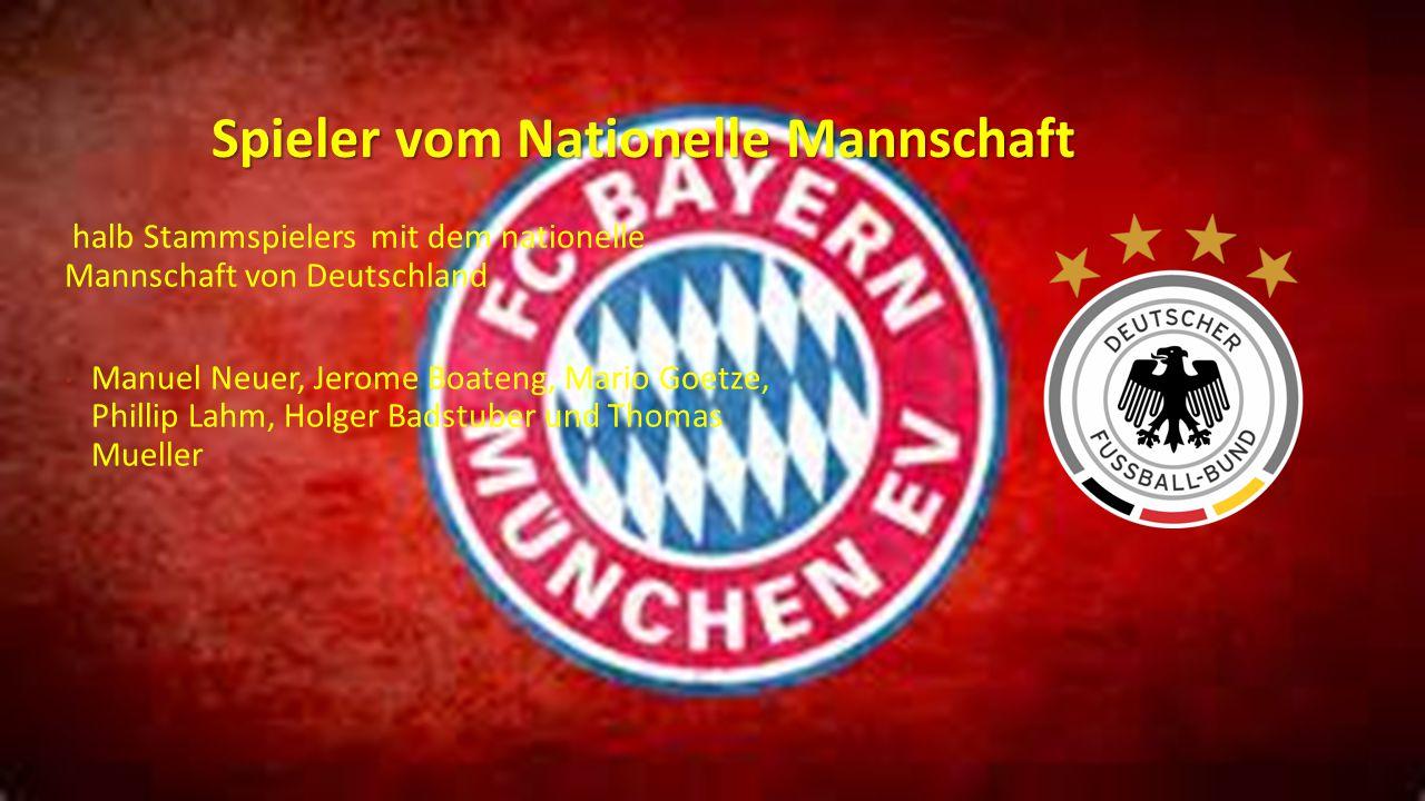 Spieler vom Nationelle Mannschaft halb Stammspielers mit dem nationelle Mannschaft von Deutschland Manuel Neuer, Jerome Boateng, Mario Goetze, Phillip