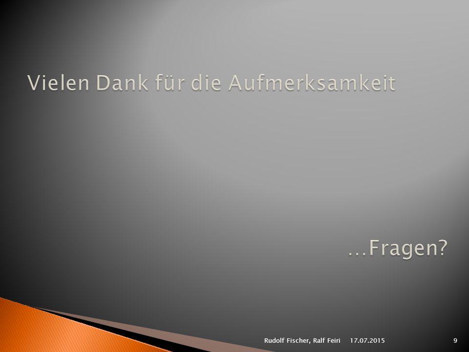 17.07.20159Rudolf Fischer, Ralf Feiri