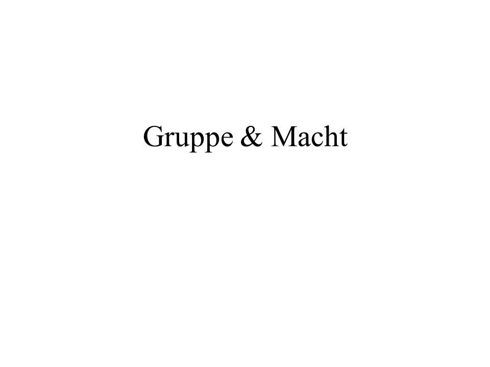 Gruppe & Macht