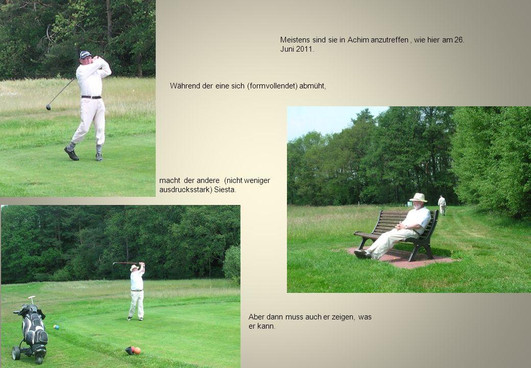 Senioren im Achimer Golfclub