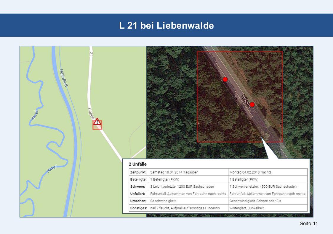 Seite 11 L 21 bei Liebenwalde