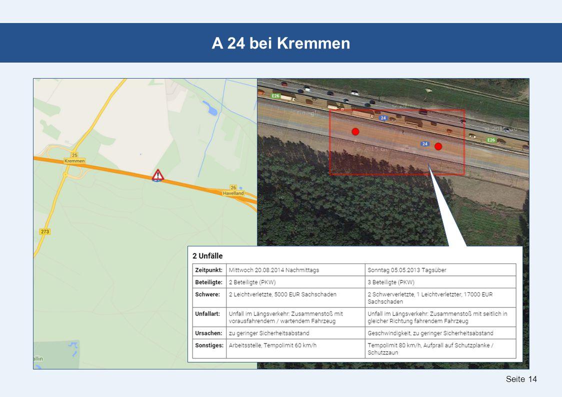 Seite 14 A 24 bei Kremmen