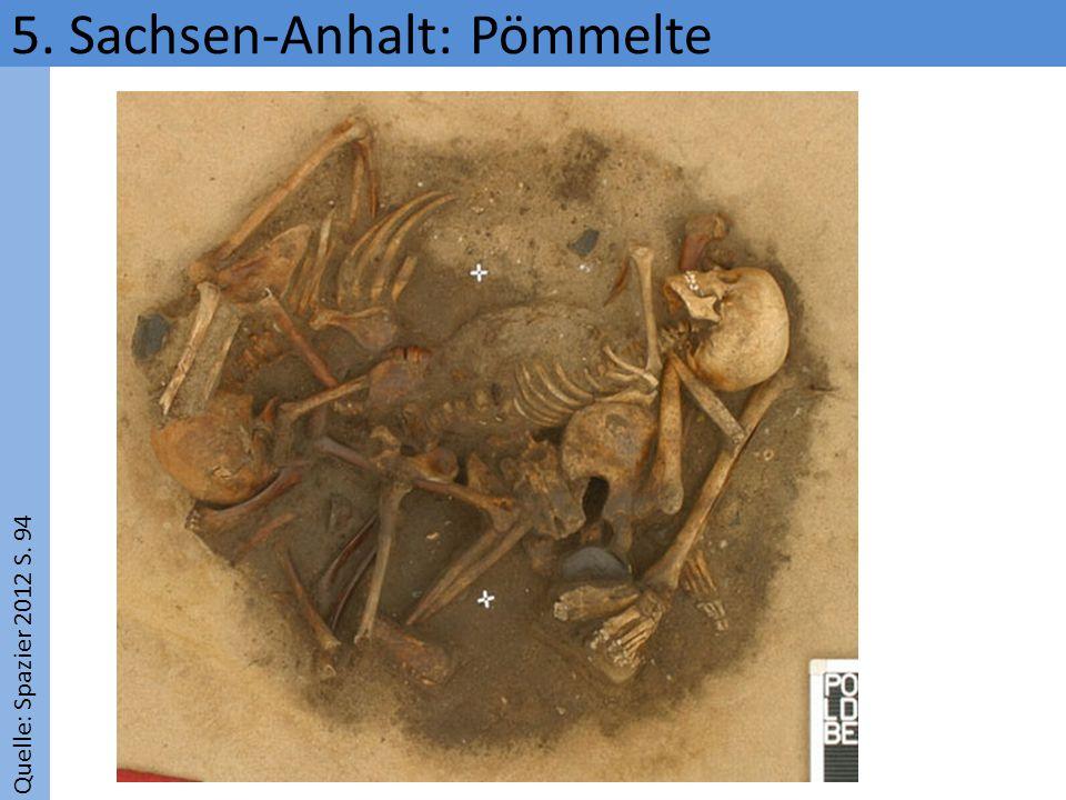 Quelle: Spazier 2012 S. 94 5. Sachsen-Anhalt: Pömmelte