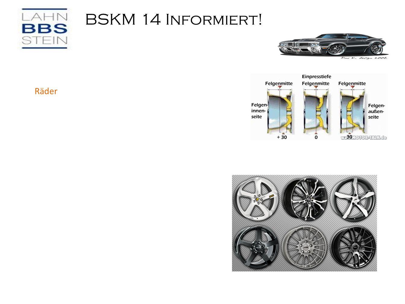 BSKM 14 Informiert! Räder