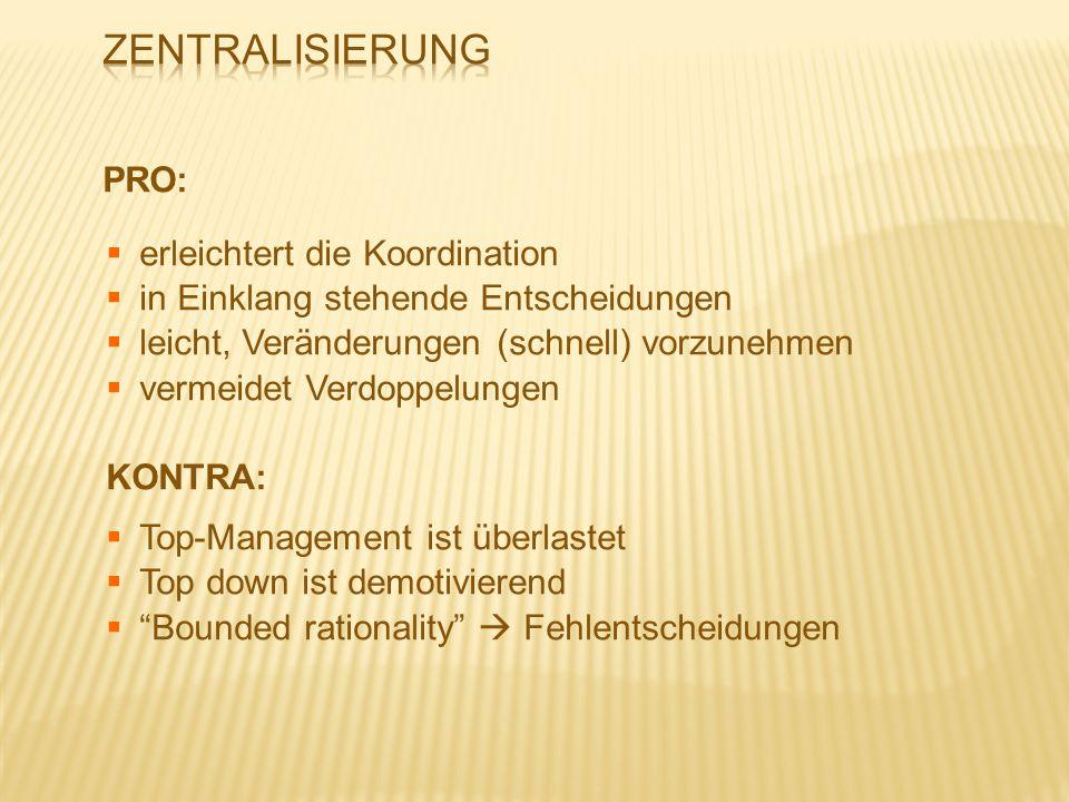 1.Management/Führungsstil 2. Art der Kommunikation 3.
