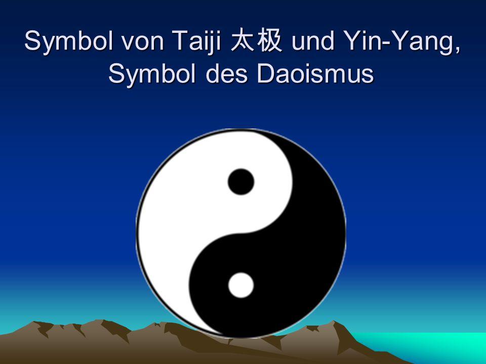 Symbol von Taiji 太极 und Yin-Yang, Symbol des Daoismus
