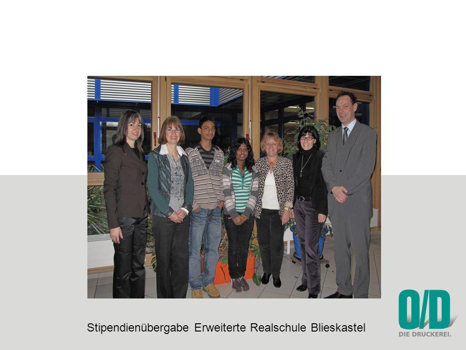 Stipendienübergabe Erweiterte Realschule Blieskastel