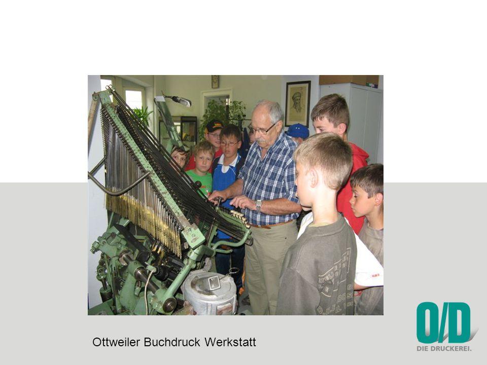 Ottweiler Buchdruck Werkstatt