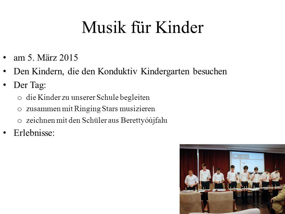Musik für Kinder am 5.