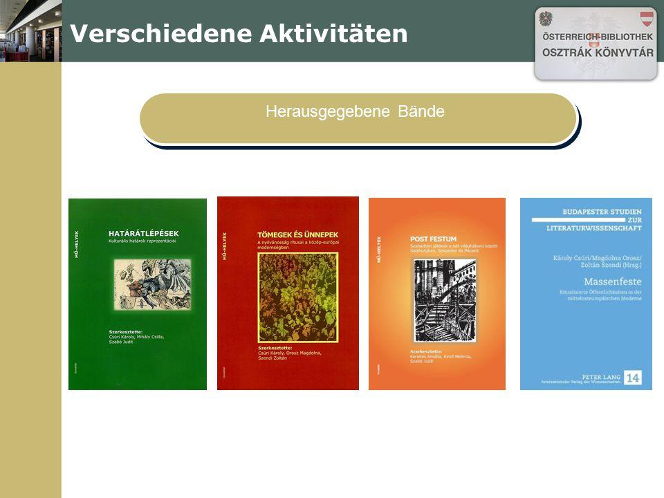 Wiener Moderne Seminare, Vorlesungen Georg Trakl Öst.