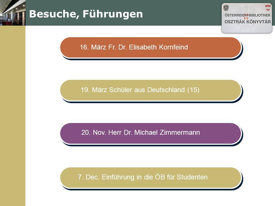 Pläne für 2010 28. April Verena Roßbacher Lesung