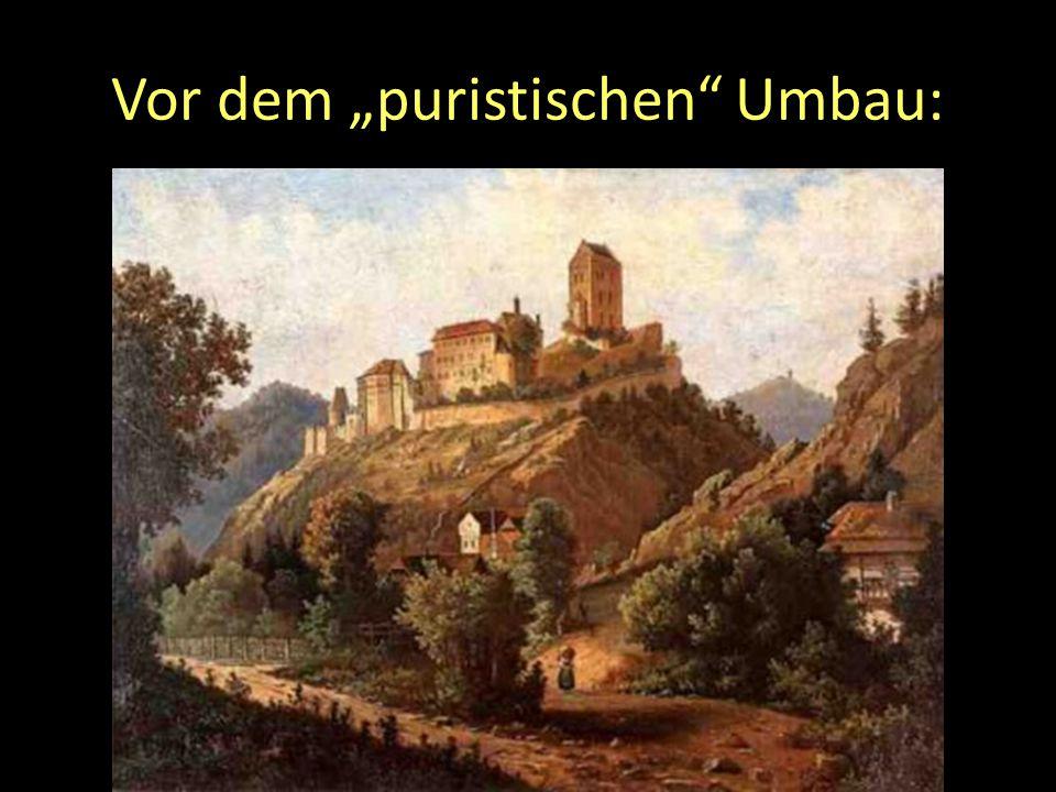 """Vor dem """"puristischen"""" Umbau:"""