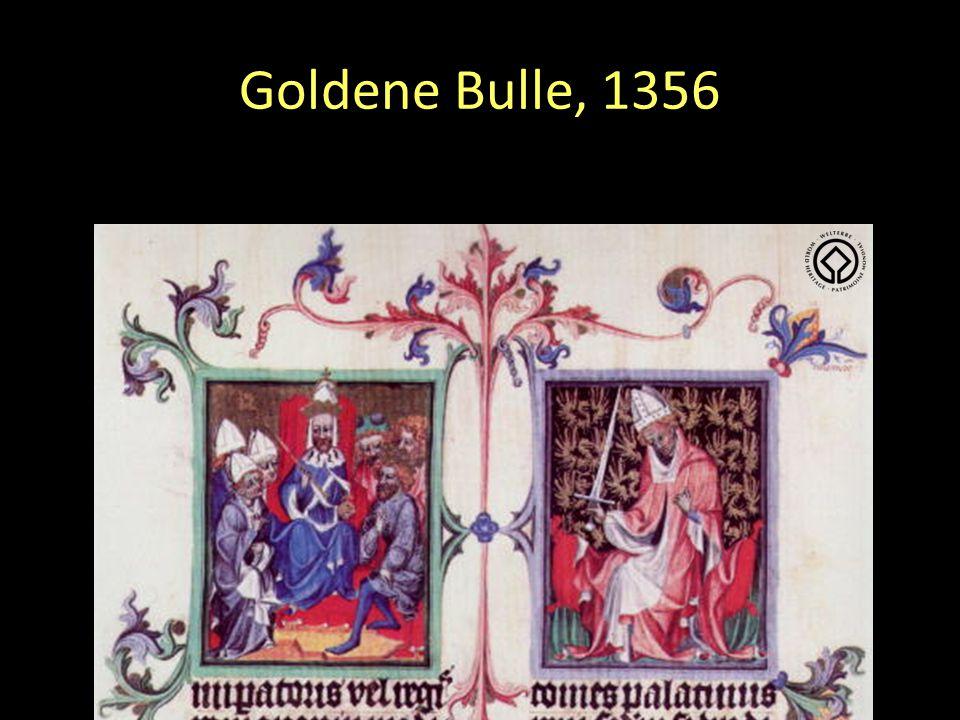Goldene Bulle, 1356