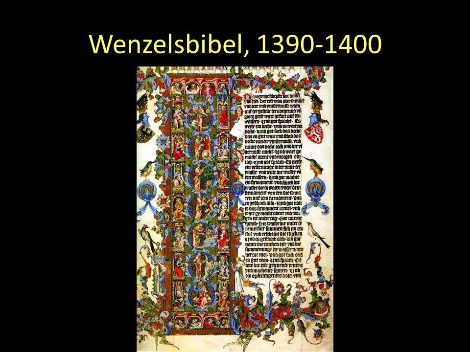 Wenzelsbibel, 1390-1400