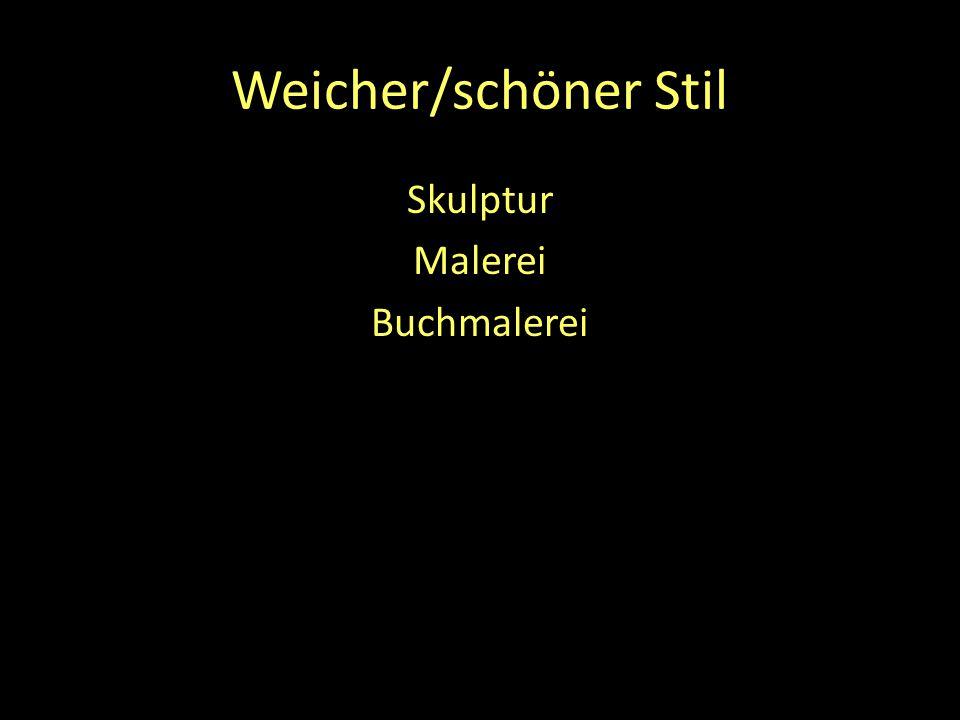 Weicher/schöner Stil Skulptur Malerei Buchmalerei