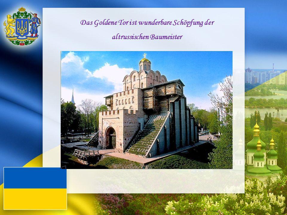 Das Goldene Tor ist wunderbare Schöpfung der altrussischen Baumeister