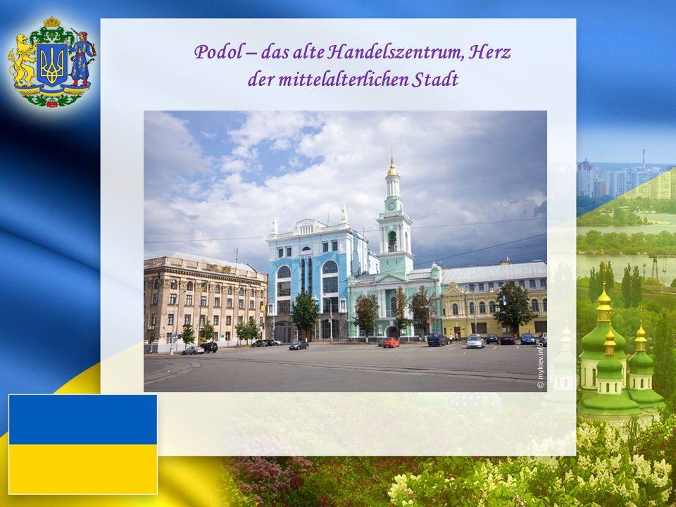 Podol – das alte Handelszentrum, Herz der mittelalterlichen Stadt