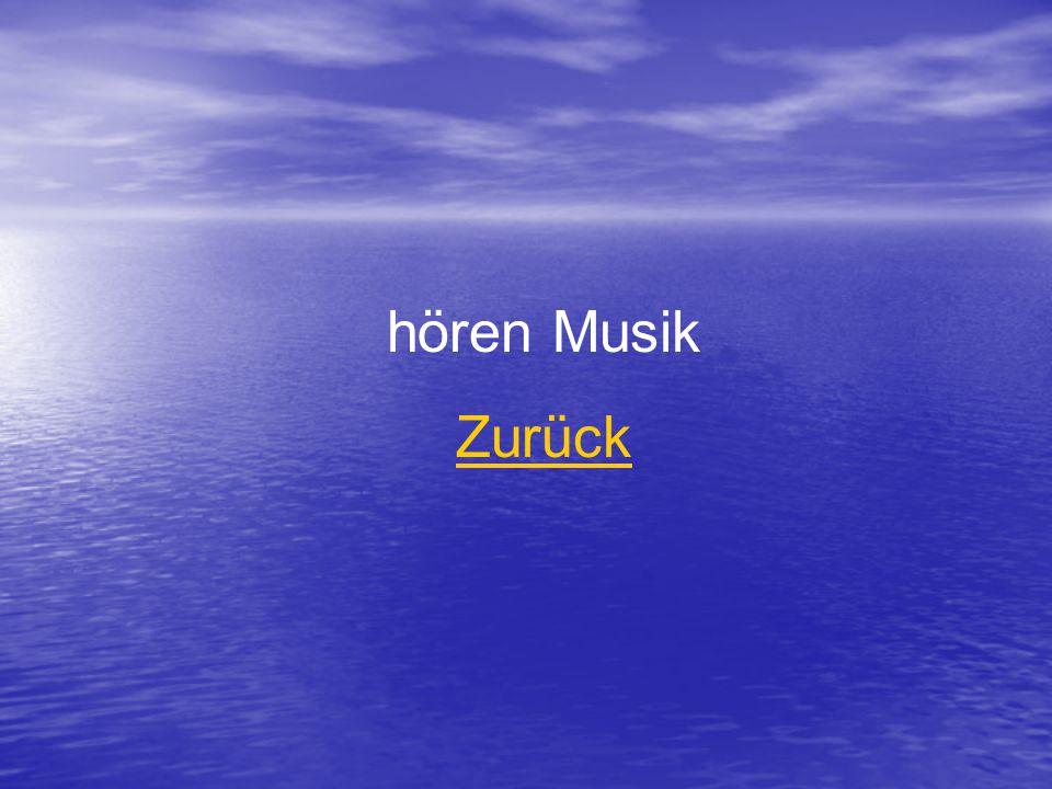 hören Musik Zurück