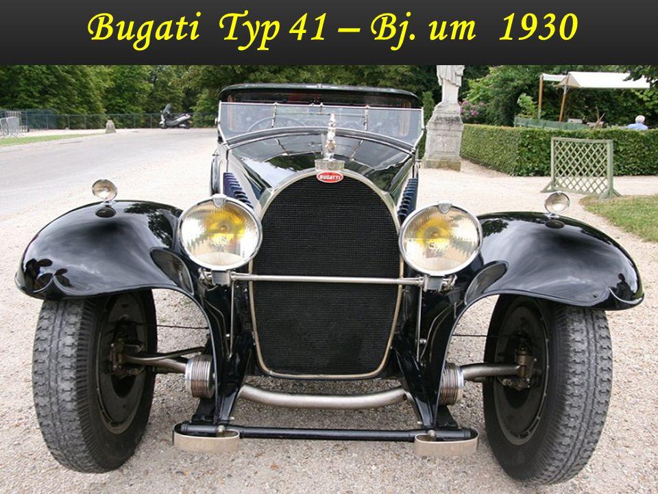 Bugati Typ 41 – Bj. 1933