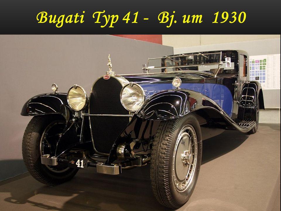 Oldtimer Bugati Royale 41 Coupe Napoleon Sollte 1926 als Über - Automobil die Welt aus den Angeln heben Jetziger Marktwert ca` 10 Mio.