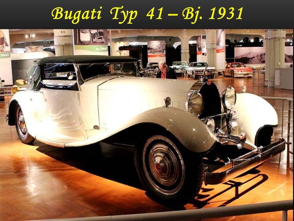 Bugati Typ 41 – Bj. 1930