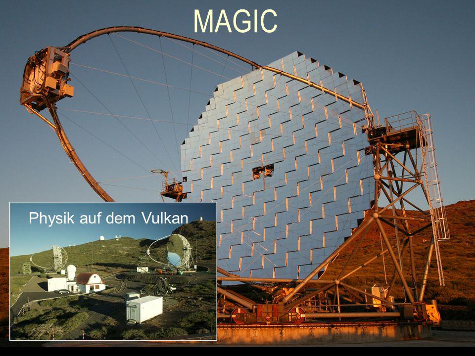MAGIC Physik auf dem Vulkan