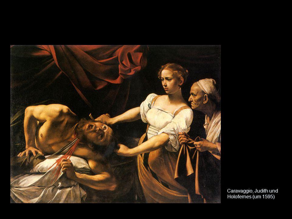 Caravaggio, Judith und Holofernes (um 1595)