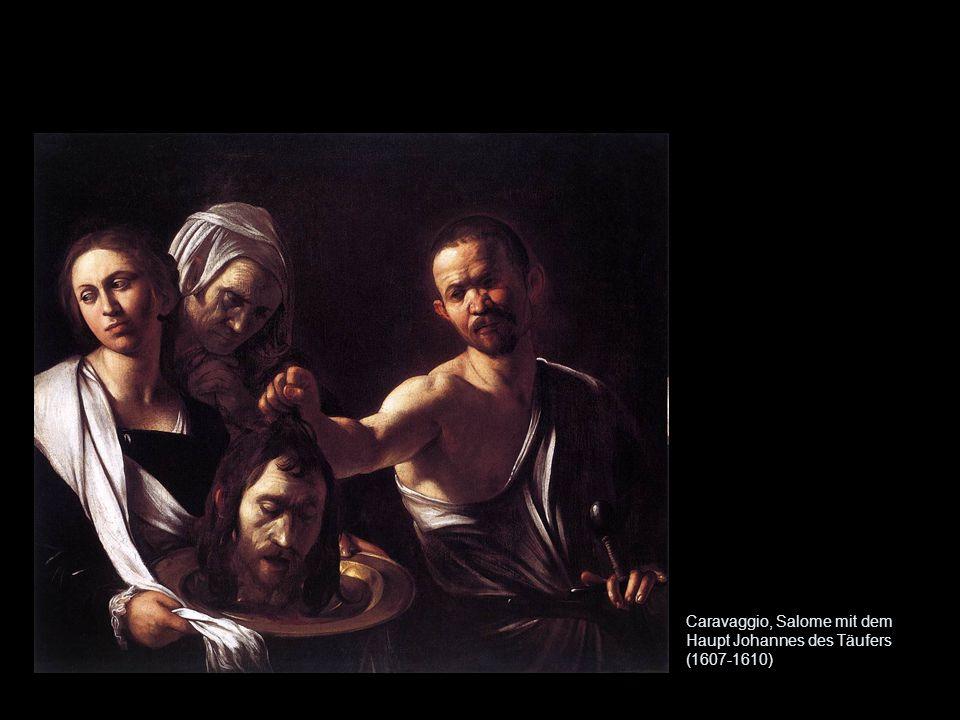 Caravaggio, Salome mit dem Haupt Johannes des Täufers (1607-1610)